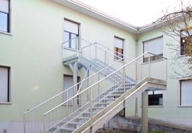 Realizzazione di scale di sicurezza UNI EN 1090