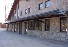 Una carpenteria in provincia di Brescia che progetta tettoie