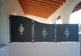 Le opere del nostro fabbro a Brescia