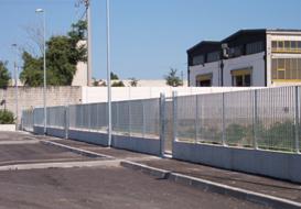 Recinzioni industriali a Brescia