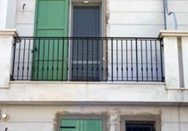 Ringhiere per balconi ad hoc