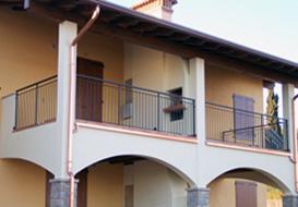 Ringhiere per balconi di nuove costruzioni