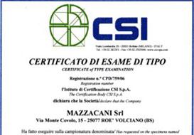 Cancelli a norma CE, realizzati da Mazzacani
