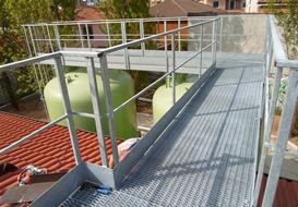 Carpenteria a Brescia per impianti di biogas