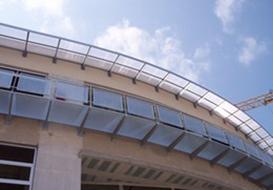Tettoie a Brescia con struttura in ferro marchiata CE