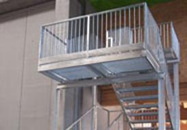 Vie di fuga: le scale antincendio