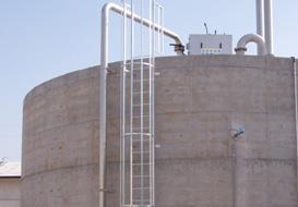 Scale alla marinara per tetti, cisterne o zone di controllo