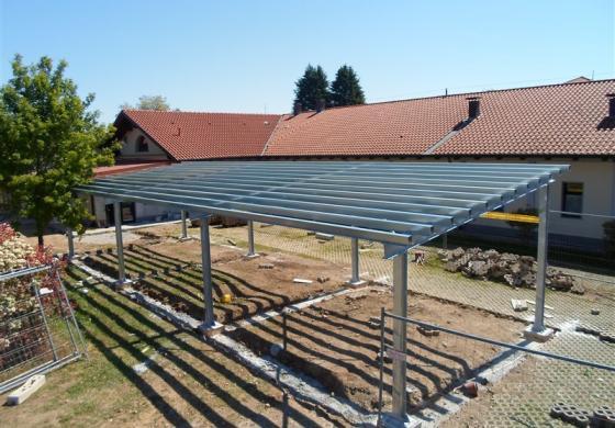 La carpenteria Mazzacani realizza tettoie a Brescia