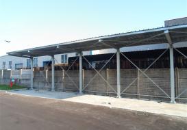 Tettoie a Brescia per privati e per attività commerciali